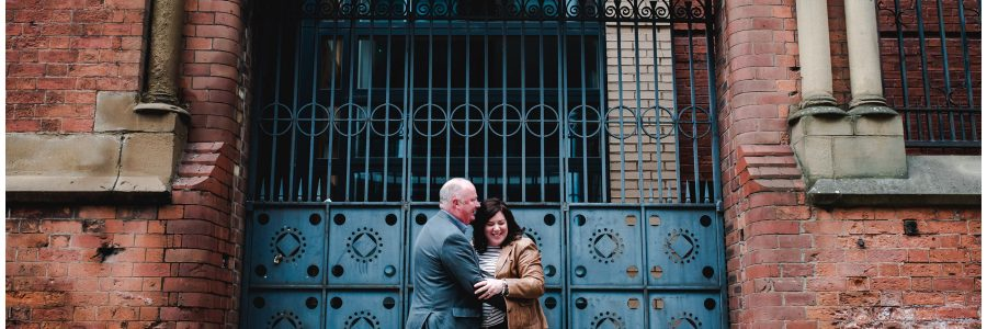 Carl & Allison – Manchester pre-wedding session!
