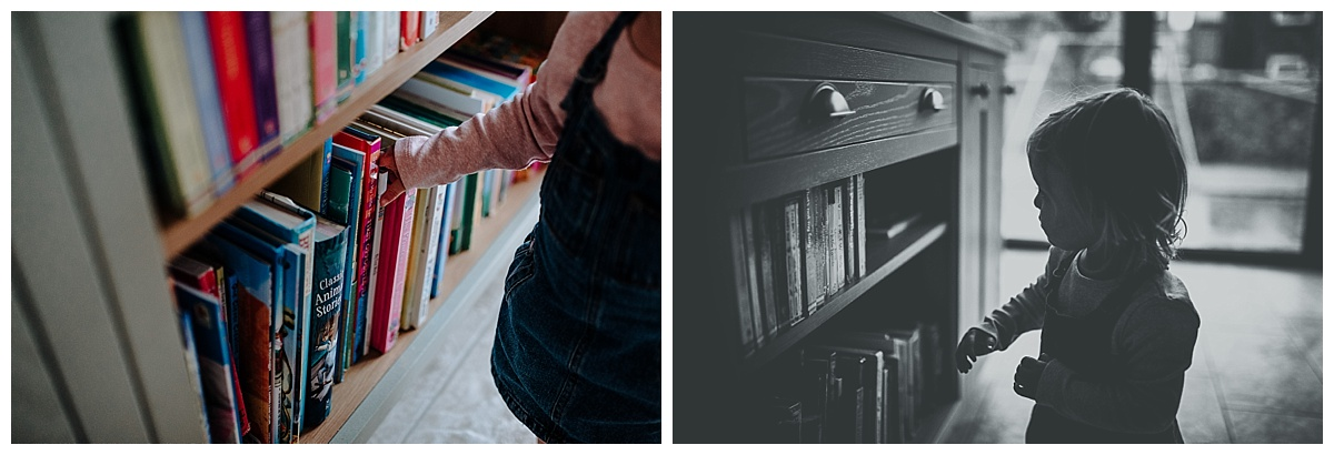 Florence with her books