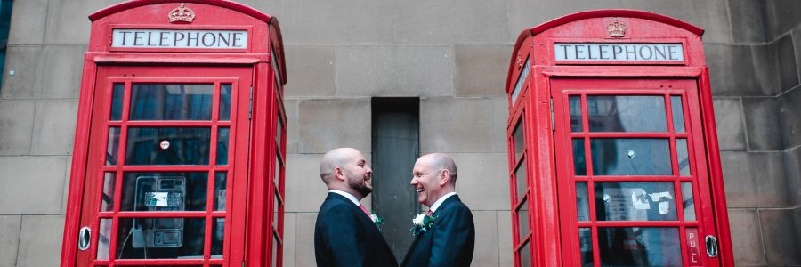 Chris & Angelo – Manchester Town Hall, Manchester Wedding Photography