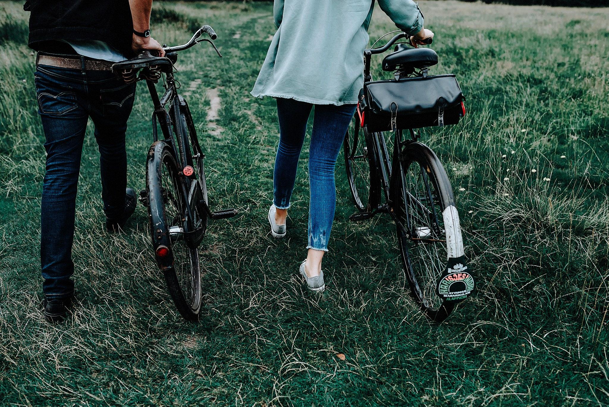 Lauren & Christophers vintage bikes
