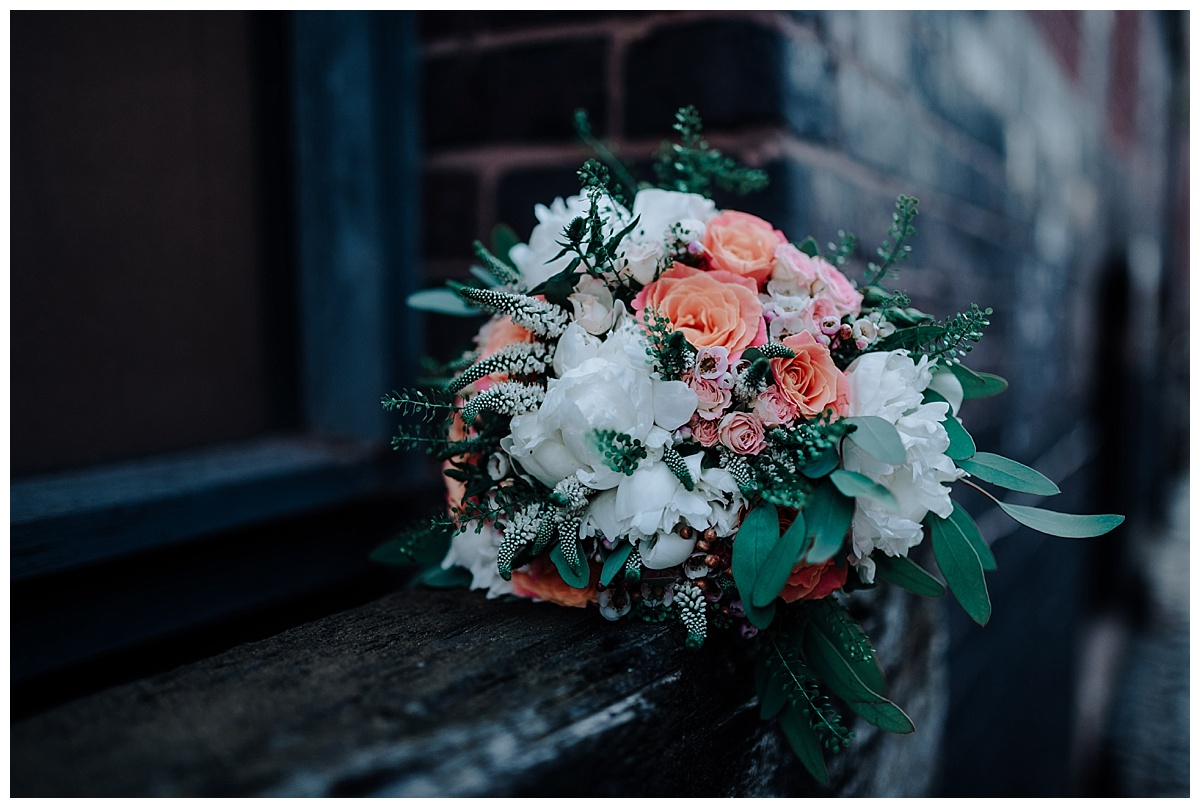 Bouquet by the Flower boutique in knutsford
