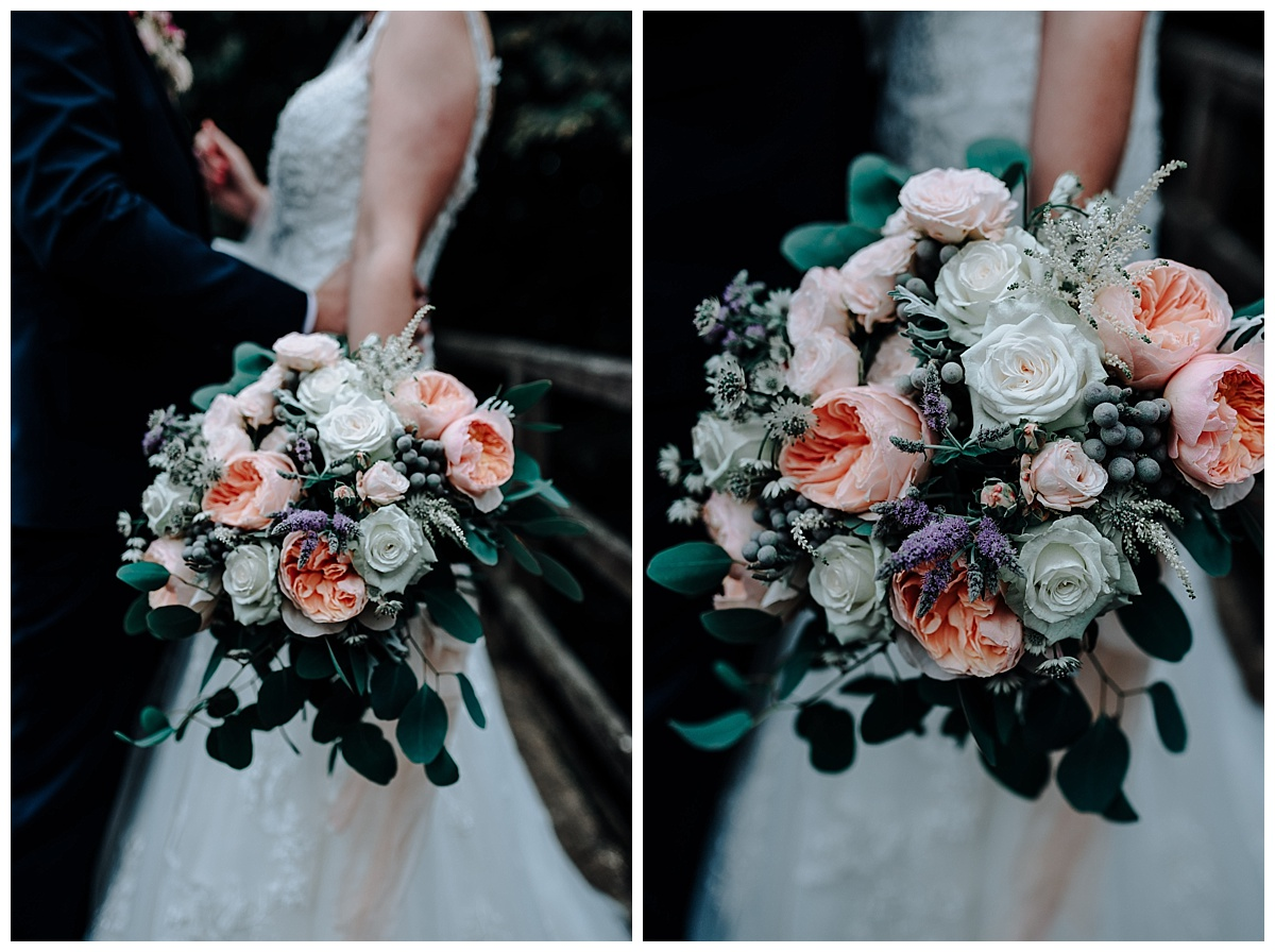 The beautiful bouquet made by Jules Floristry
