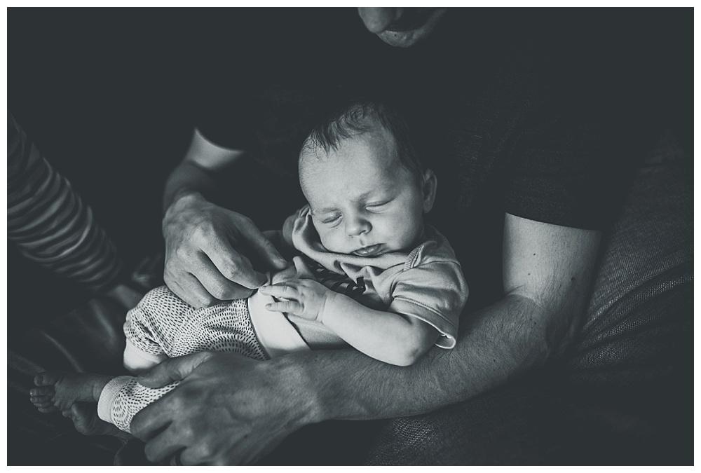 Little Noah sleeping