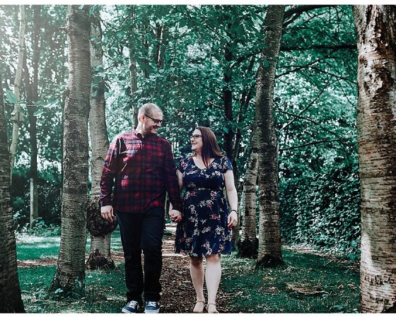 Louise & David – Walkden Gardens Photography