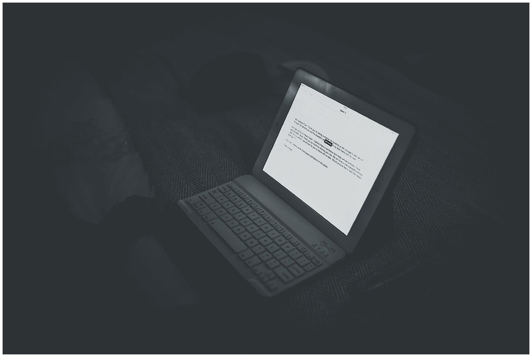 Brides Laptop