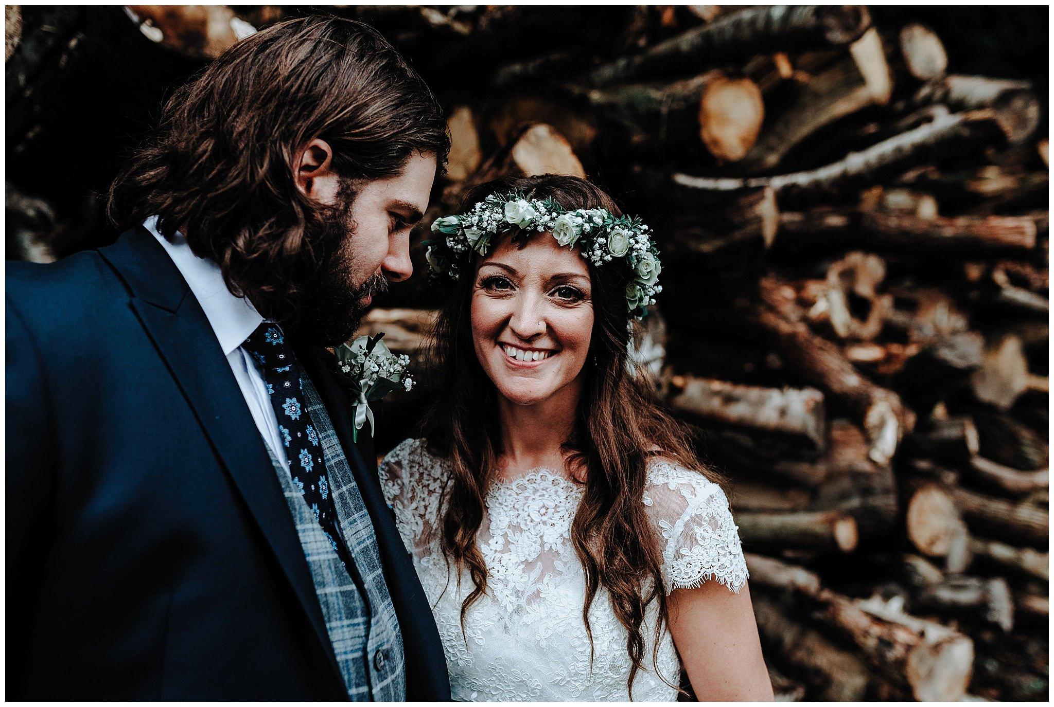 Amy Louise Bodnant Welsh Food Wedding Photographer