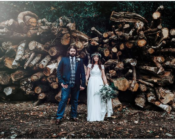 A chic and romantic Bodnant Welsh Food wedding