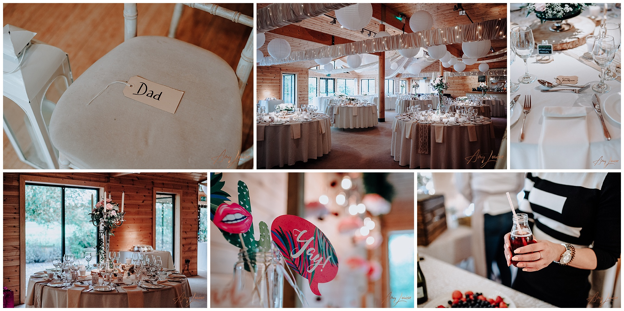 Styal Lodge Wedding Venue details as captured by Amy Louise Photography