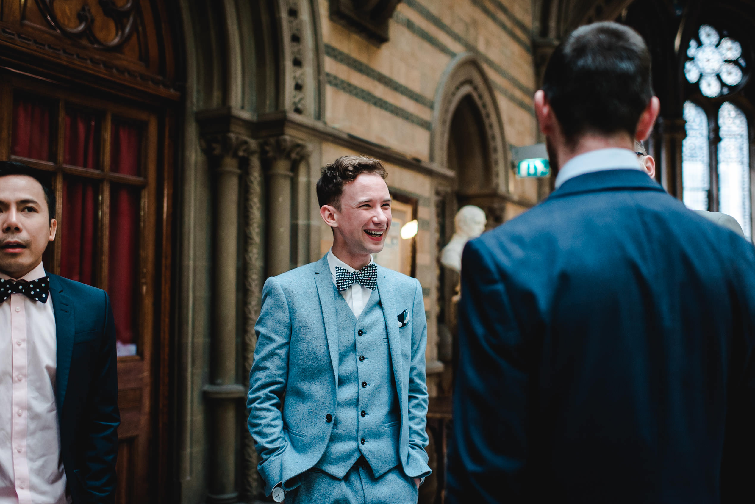 Chris & Angelo\'s Wedding - Manchester Town Hall | Amy Louise Photography