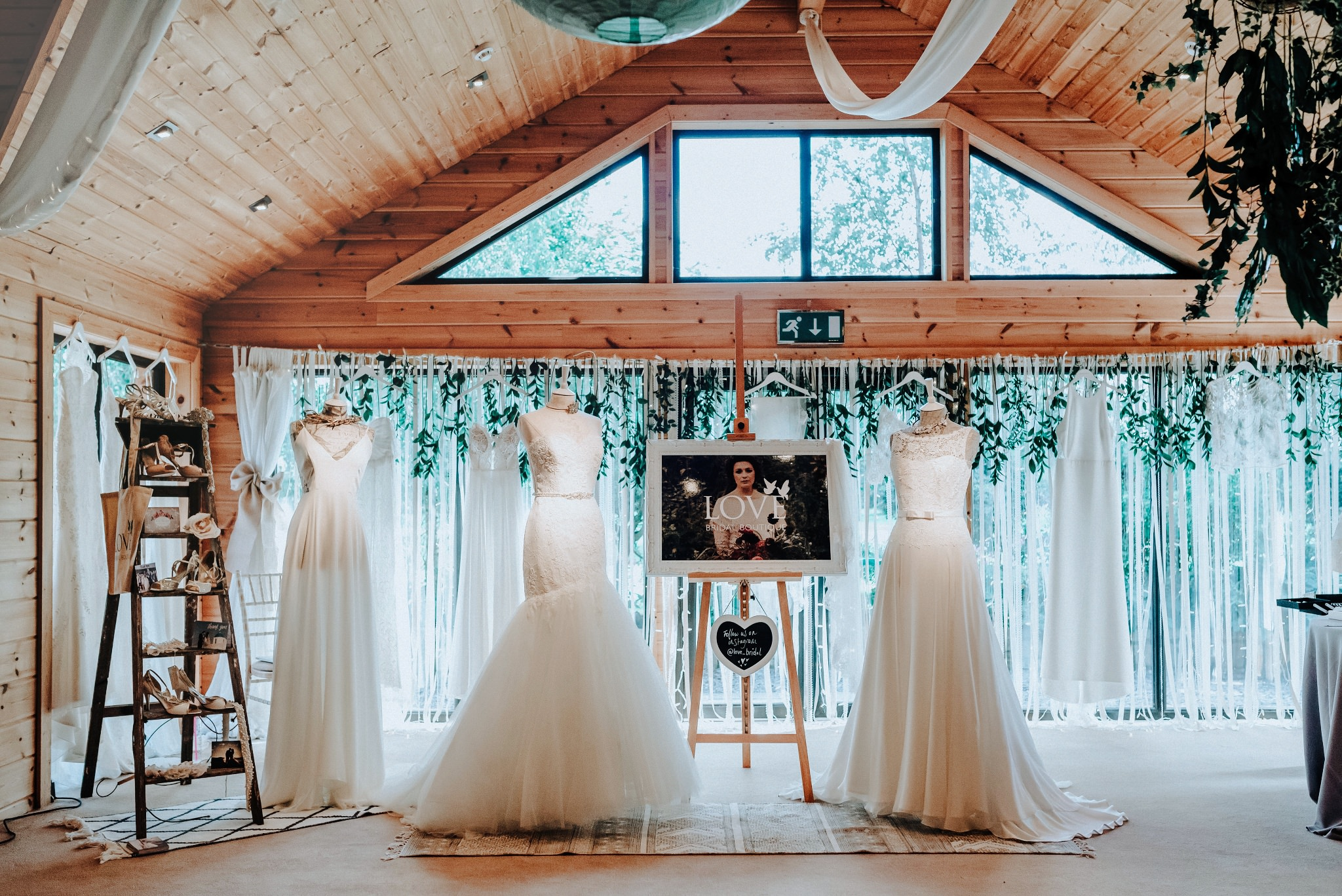 Love Bridal Boutique at Styal Lodge Wedding Venue