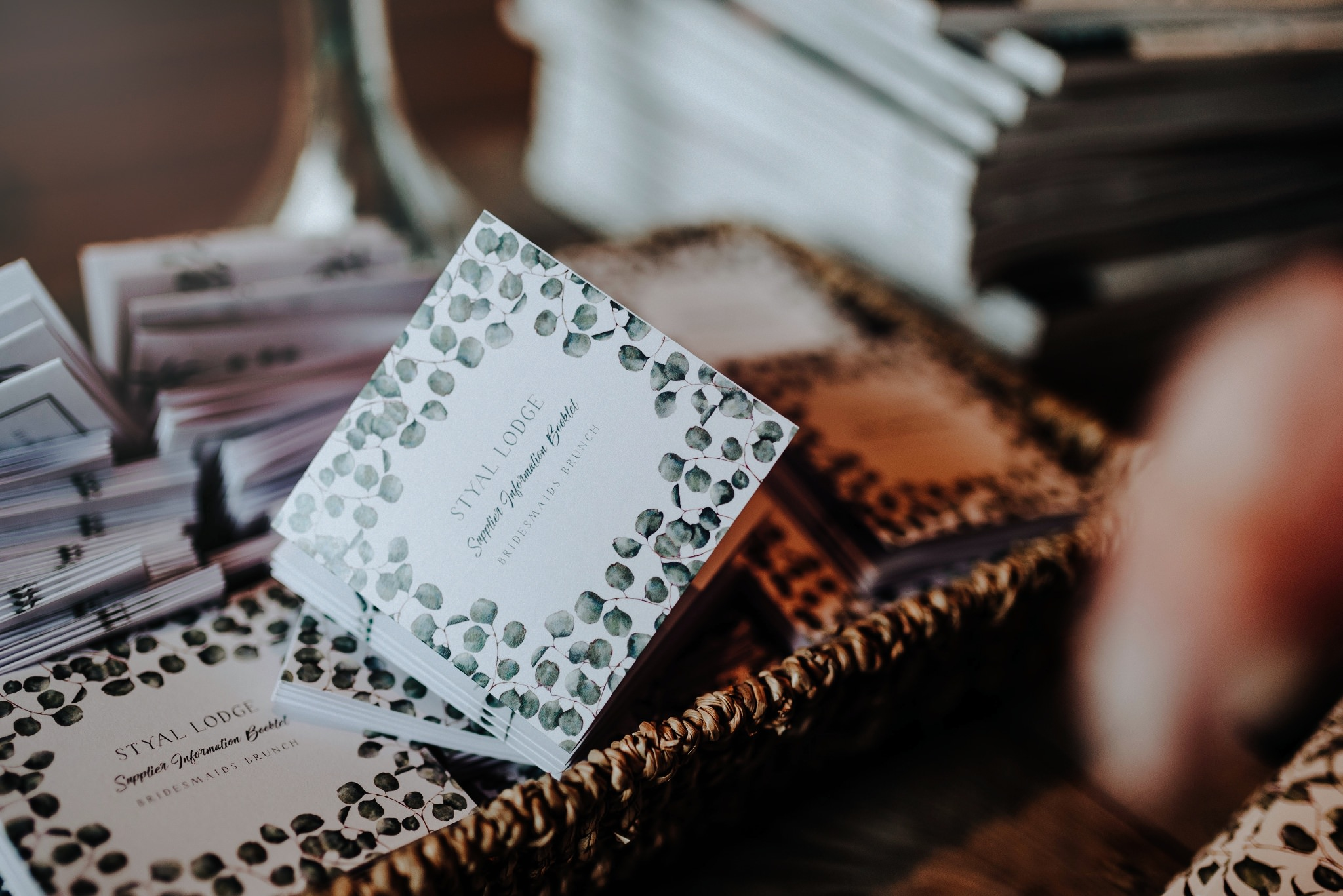 Stationery by Love From Poppy at Styal Lodge Wedding Venue, captured by Amy Louise Photography
