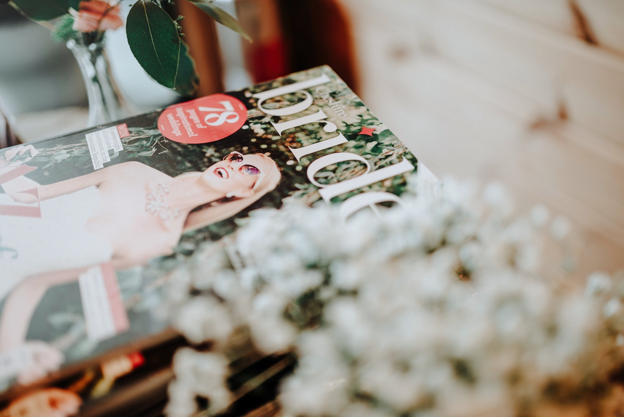 Bride Magazine at Styal Lodge Bridesmaid Brunch
